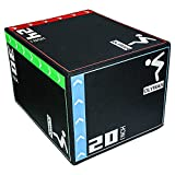 OLYWAN 3 in 1 Soft Foam Plyometric Jumping Box 20'x24'x30' Jump Box for Training and Conditioning 300lb Weight Capacity