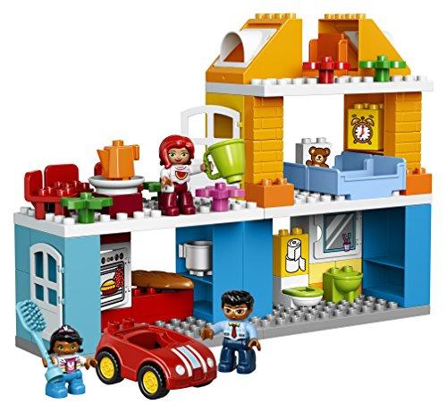 LEGO Duplo La Maison Familiale 10835 Jouet pour Enfants de 3 ans et Plus - 1