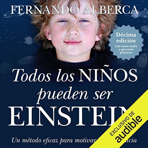 Diseño de la portada del título Todos los niños pueden ser einstein