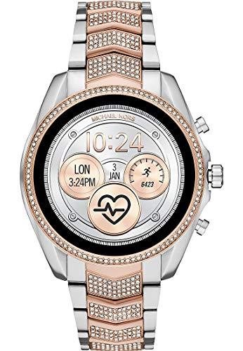 Michael Kors Reloj Digital para Mujer de Pantalla táctil con Correa en Acero Inoxidable MKT5114