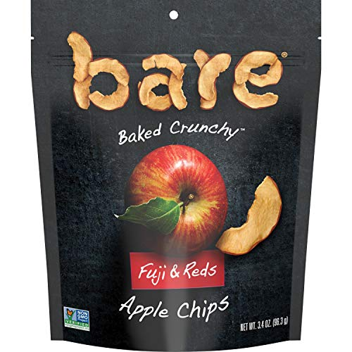 bare Baked Crunchy Apple Chips, Fujis & Reds, Snack Bags (6 Pack)