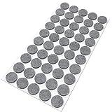 1,5 mm de grosor de fieltro redondos Adsamm/® 108 protectores de fieltro de 10 mm de di/ámetro autoadhesivos