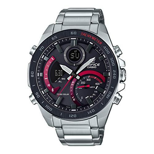 Casio Edifice Bluetooth Connect Analog-Digital Black Dial Men's Watch ECB-900DB-1ADR(EX499)