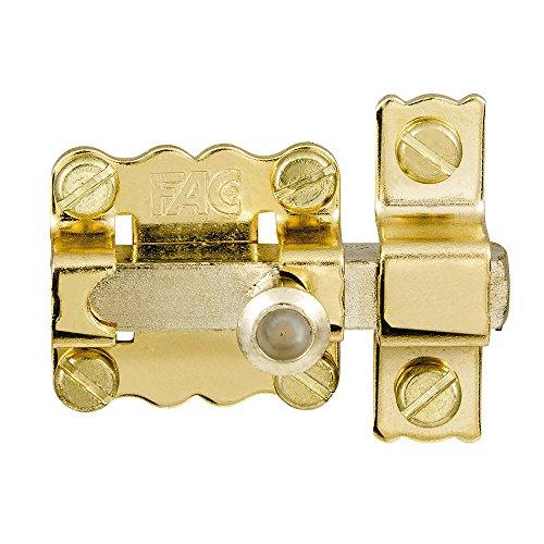 Fac seguridad 30-p/89 - Pasador dorado
