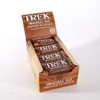 Trek Flapjacks original oat protein flapjack (16 x 50G) by Trek Flapjacks