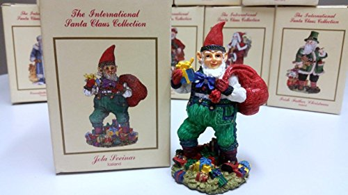 International Santa The Claus Collection Jola Sveinar Iceland Christmas Figurine SC33