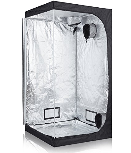 TopoLite 36'x36'x72' Grow Tent Dark Room Reflective Mylar Indoor Garden Growing Room Hydroponic...