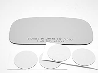 Burco 3285 Passenger Side Convex Replacement Mirror Glass for Jaguar Vanden Plas