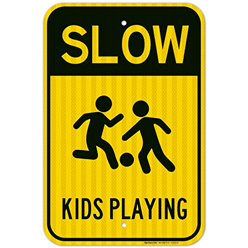 slow for kids sign - 9