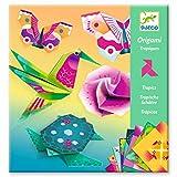 Djeco- Papiroflexia Origami Trópicos (mín. 2 u.) Muñecas y Figuras (DJ08754)