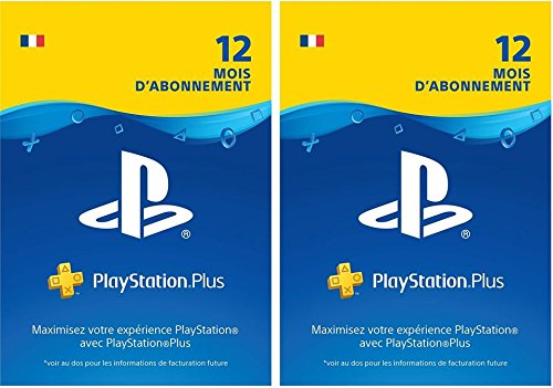 PlayStation Plus: abonnement de 24mois | Code Jeu PSN - Compte français - 12 + 12 Mois Edition | Code Jeu PS4 - Compte français
