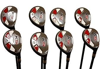 Majek Senior Ladies Golf Clubs All Hybrid Set