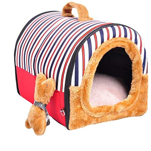 B&F Perrera, 2 En 1 Casas para Perros Cachorros De Perro