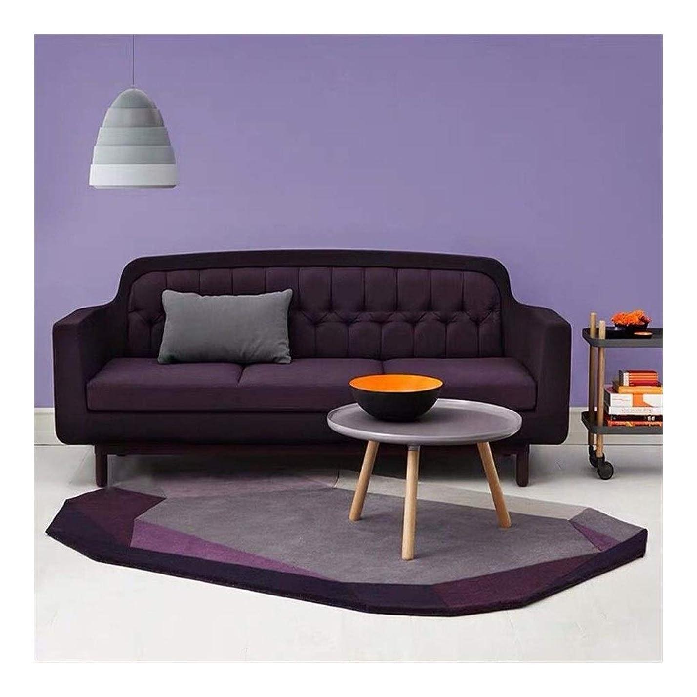 デザイナーアブセイ混乱ラグ、フロアマット、毛むくじゃらの房状のベルベットのリビングルームのソファコーヒーテーブルのベッドルームのベッドサイドのスタディルームの装飾不規則なカーペット (Size : 140×200cm)