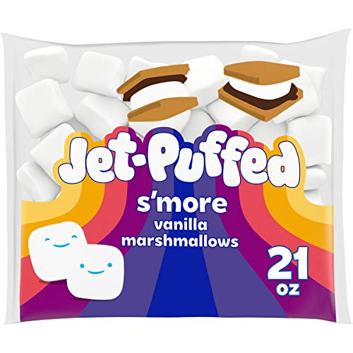 Jet-Puffed Smore Mallows Marshmallows (21 oz Bag)
