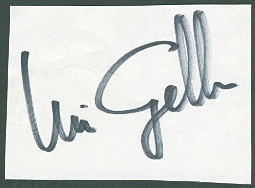 Uri NEW before selling ☆ Geller Signature Purchase -