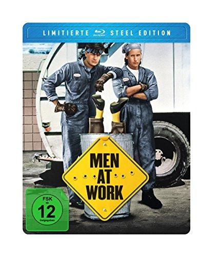 Men At Work (Limited FuturePak Steel Edition) [Blu-ray]