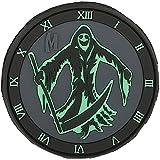 Maxpedition MXREAPZ-BRK Parche Reaper Glow, Hombre, Brillo, 3 x 3-Inch