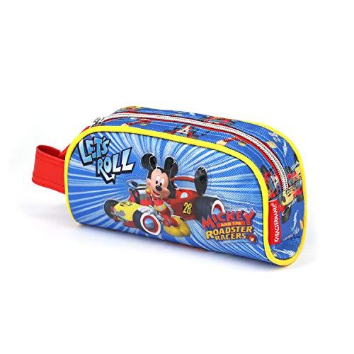 Mickey Mouse Estuche Portatodo, Multicolor (Karactermania KM-37693)