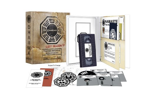 Lost: Comp Fifth Season - Dharma Initiative Kit (5 Dvd) [Edizione: Stati Uniti]