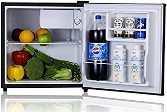 SPT RF-164SS Refrigerator with Energy Star, Stainless, 1.6 Cubic Feet