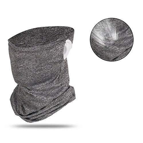 Herenski ademende bivakmutsen Multi-gebruik ijs zijden sjaal Snood Unisex fietshoofddeksels voor buiten fietsen Motorfiets