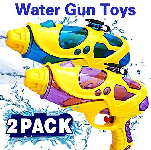 Sunshine smile wasserpistole klein,wasserpistolen Set,wasserpistole Spielzeug,wassergewehr für Erwachsene Kinder,Water Gun,Water Blaster,wasserpistole für Garten und Strand,wasserspritzpistolen