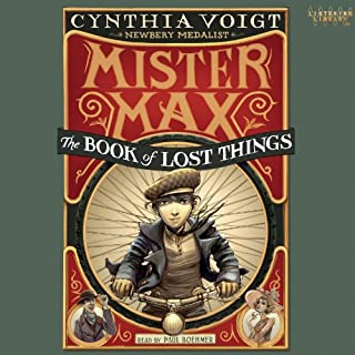 Mister Max: The Book of Lost Things audiobook cover art