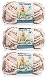 Bernat Baby Blanket Yarn (3-Pack) Little Petunias 161103-3421