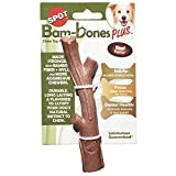 Ethical Pet Bambone Plus Stick Dog Chew Toy, 5.75 Inch, Non-Splintering Alternative to Real Wood