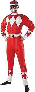 Rubie's 887101XL Disfraz oficial de Power Ranger, superhéroe Mighty Morphin Rangers, para hombre, XL