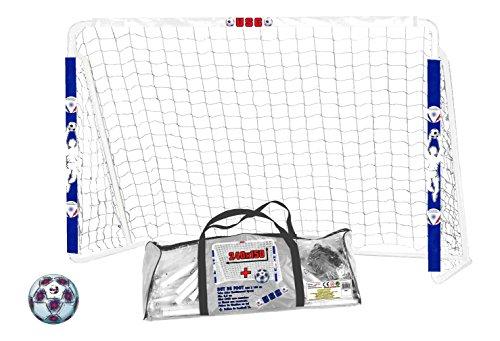 Partner Jouet - CDSCBL708PLUS - Jeu de Plein Air - But Foot 240x150 + Ballon