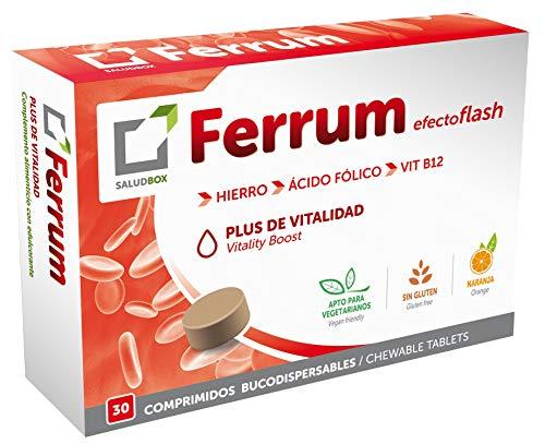 FERRUM, a base de hierro, ácido fólico y Vit.B12