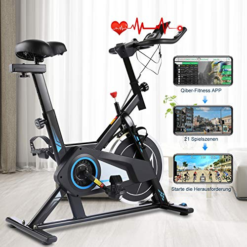 Gravdel Exercise Bike with APP Connection Now $203.99 (Was $739.99)
