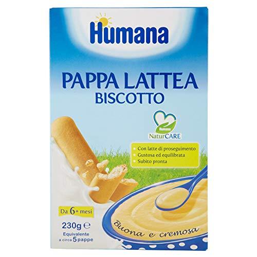 Humana, Pappa Lattea Biscotto, 230g
