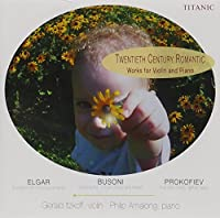 20th Century Works for Violin & Piano