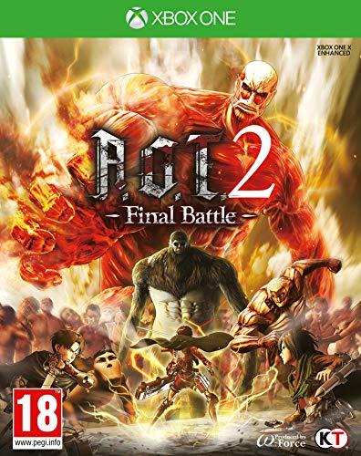 Attack On Titan 2 (A.O.T) Final Battle Xbox One Game [Importación inglesa]