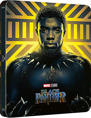 Black Panther 4K Ultra HD Limted Edition Steelbook (Lenticular Cover) / Import / Includes Region Free Blu Ray