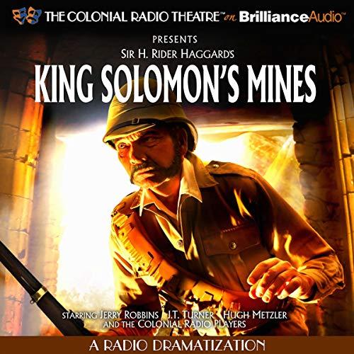 King Solomon's Mines Audiobook By Sir H. Robert Haggard, J.T. Turner cover art