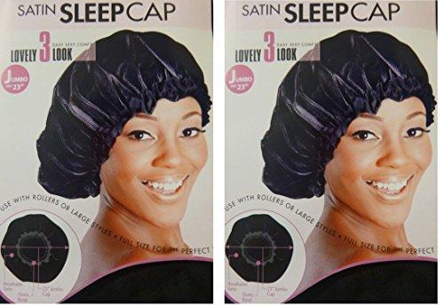 "Satin Sleeping Cap, 23"" JUMBO …"