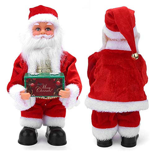 Christmas Doll Toy, Shaking Luminous Cute Decorative Santa Claus Toy, for Christmas Home(Dancing Santa)
