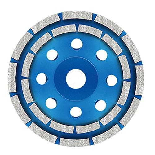 Copa Muela doble fila 125mm Hormigón de Altas Prestaciones diamante de piedra amoladora Accesorios para discos para el hogar Productos Industriales