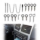 HiYi Kit de herramientas de instalación de palanca de instalación para panel de radio de coche, 20 en 1