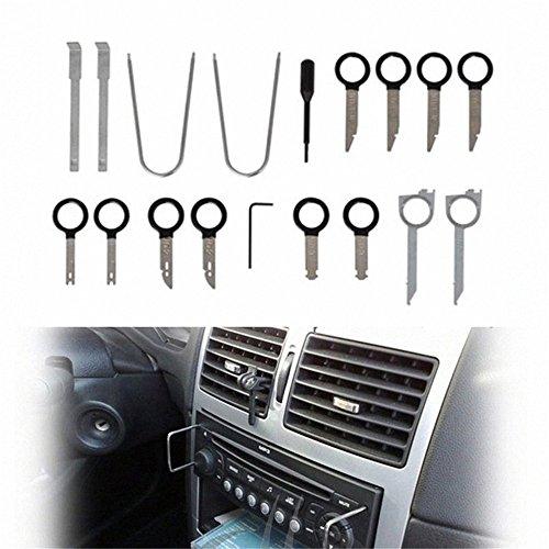 hiyi 20en 1radio de coche Panel de la puerta Desmontaje realese llaves Navegación de audio estéreo unidad central Dash borde instalar Pry Tool Kit