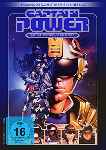Captain Power - Die komplette Serie (inkl. Pilotfilm 'Galaxy Heroes') [3 DVDs]