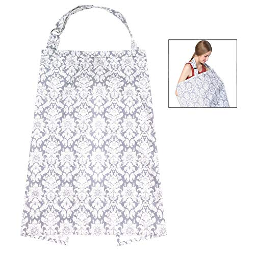 XLKJ Cubierta para Lactancia, Pañuelo Lactancia Materna, Manta Lactancia Cubierta de Lactancia Bufanda de Lactancia