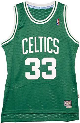 Larry Bird Boston Celtics 1985 Road Men's Swingman Jersey (4X-Large) Green