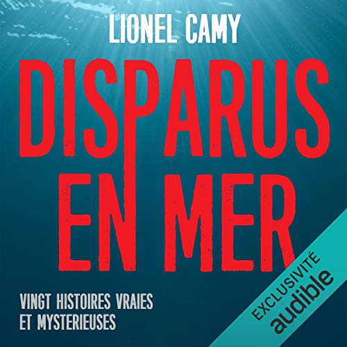 Disparus en mer audiobook cover art