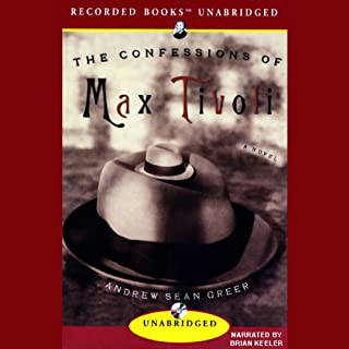 The Confessions of Max Tivoli audiobook cover art
