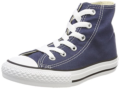 Converse Unisex-Kinder C. Taylor All Star Youth Hi 3J2 Fitnessschuhe, Blau (Navy 410), 33 EU